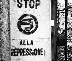 stop alla repressione