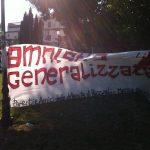 Presidio in solidarietà ai detenuti di Poggioreale